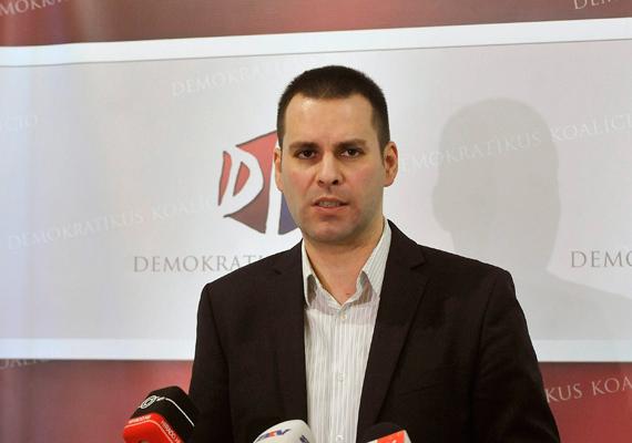 Molnár Csaba volt közlekedési, hírközlési és energiaügyi miniszter, jelenleg a Gyurcsány-féle Demokratikus Koalíció tagja.