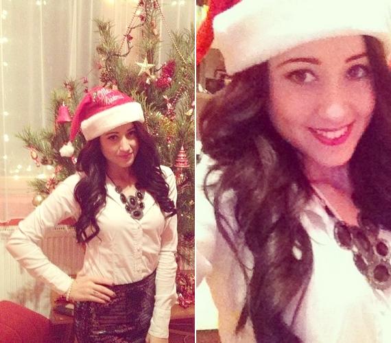 Tavaly a karácsonyt is mikulássapkában ünnepelte a megosztott képei tanúsága szerint.
