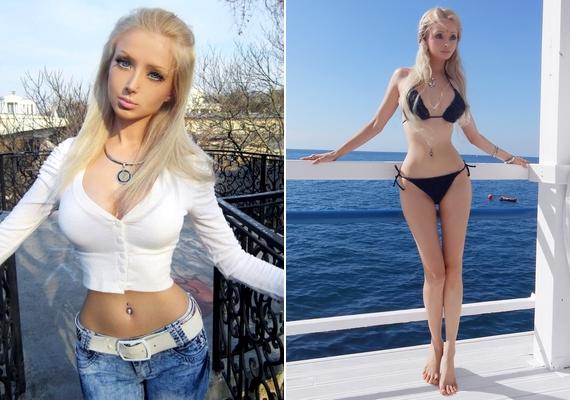 Azt, hogy mennyire eltér a valóságtól egy Barbie baba külseje, mi sem bizonyítja jobban, mintValeria Lukyanova, aki műtétek sorozatán esett át, hogy jobban hasonlíthasson a műanyag játékszerre, és fotóit is alaposan utókezeli.