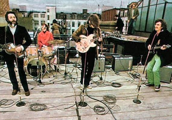 Az utolsó, legendás koncertre 1969. január 30-án került sor, a londoni Apple stúdió tetején.