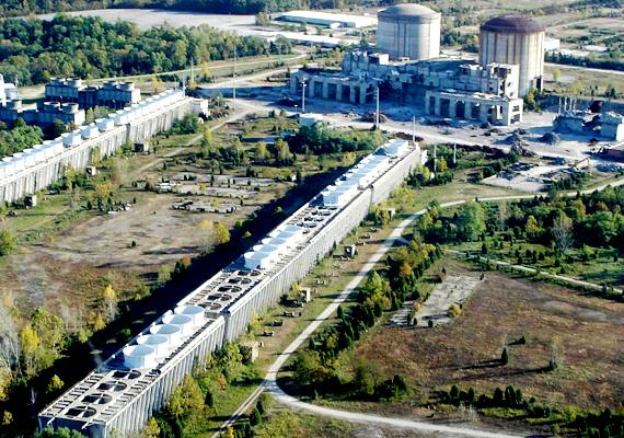 1977-től kezdve az indianai Marble Hill atomerőműve körül nagyjából hét éven keresztül minden a terv szerint haladt. Ekkor azonban elfogyott a pénz, és - bár eladtak néhány dolgot, hogy visszajöjjön néhány millió - úgy döntöttek, abbahagyják a munkát. Az építmény azóta is ott áll, de már elkezdték lebontani.
