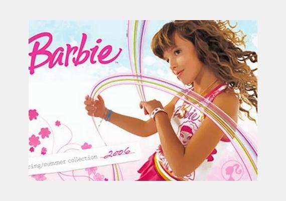 2006-ban egy Barbie-reklám arca volt, mindössze kilencévesen.