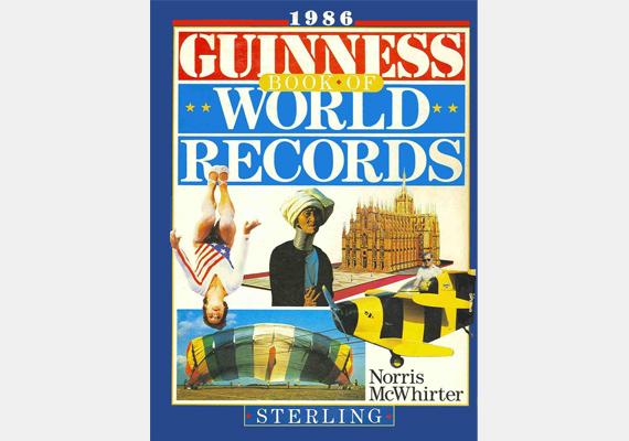 A Guinness World Records című alkotást minden évben kiadják, 29 nyelven, többek között magyarul is. Az első 1955-ben jelent meg, szerzője ismeretlen - minden évben más-más szerző jegyzi -, ám az biztos, hogy ez a világ negyedik bestsellere, 115 millió darabot adtak el belőle.