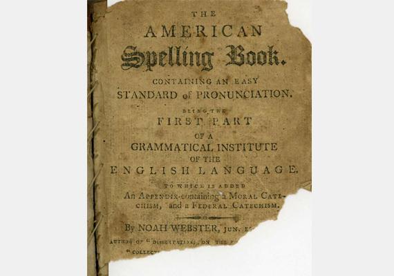 A legrégebbi, ám egyben az egyik legolvasottabb könyv Noah Webster nevéhez fűződik, a kötet címe pedig American Spelling Book. Az 1783-as kiadású kötet szintén az amerikai gyerekek olvasástanulását szolgálta, az évszázadok alatt 100 millió példány talált belőle gazdára.