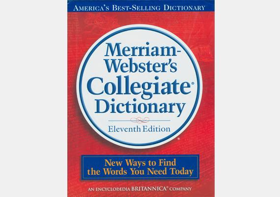 A Webster's Dictionary szintén Noah Webster, illetve szerzőtársa, Charles Merriam keze munkáját dicséri - nem más ez, mint egy angol szótár. 1898-ban jelentette meg a szerzőpáros, sikere pedig azóta is töretlen, 55 millió példányban kelt el a világban.