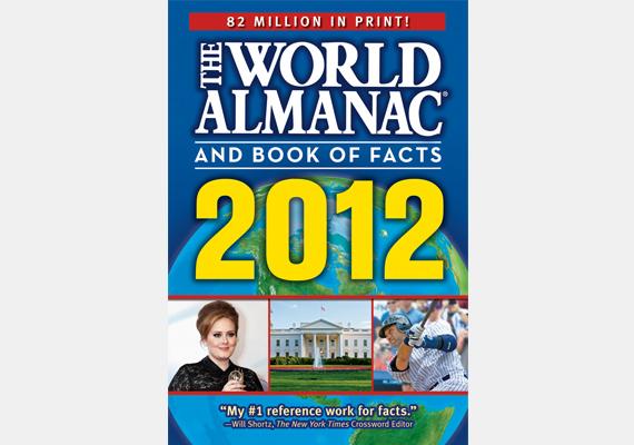 A World Almanac hasonló életútra tekint vissza, mint a Guinness World Records, ugyanis szintén minden évben megjelenik, mindig más szerző tollából. Csak angolul adják ki, ám így is 80 milliós eladást tudhat magáénak.