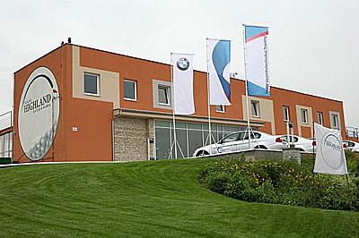 A BMW Vezetéstechnikai Tréning helyszíne