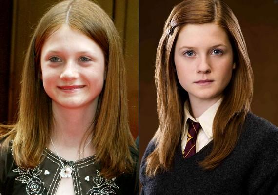 Bonnie az egész világ szeme láttán nőtt fel a Harry Potter-filmek Ginny Weasley-jeként.