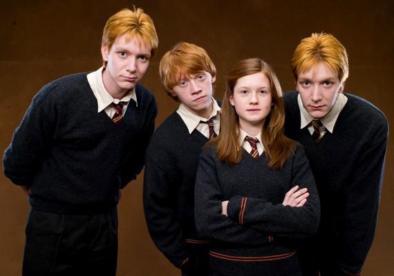 Ő volt az egyetlen lánytestvér a vörös hajú családban.