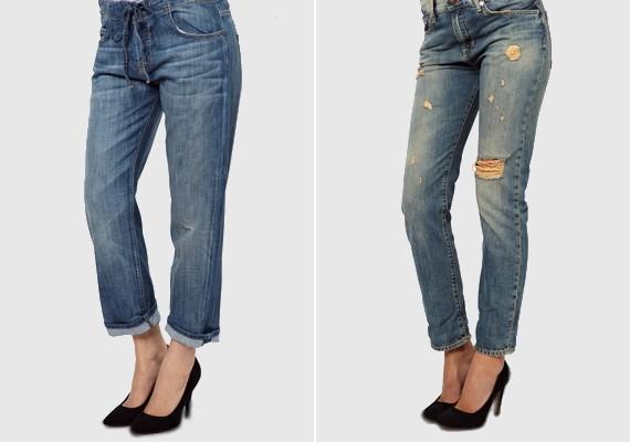 Az első és legfontosabb a boyfriend nadrág, amit csajosra formálhatsz magas sarkú cipővel kombinálva.