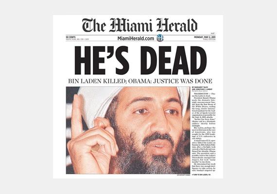 Az amerikai terrortámadáshoz köthető, szaúd-arábiai Oszama bin Láden az al-Káida terrorszervezet egyik alapítója volt. Nevéhez leginkább a 2001. szeptember 11-i merénylet köthető, melyben közel háromezer ember vesztette életét. Végül amerikai erők 2011. május 1-én megölték a körözött bűnözőt.
