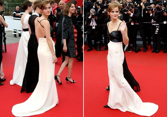 Emma Watson egy csodálatos Chanel couture ruhát viselt, és csak úgy vonzotta a tekinteteket.