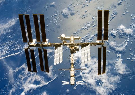 Így néz ki a Nemzetközi Űrállomás, vagyis az ISS.