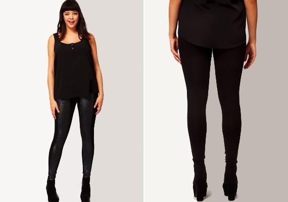 Ha inkább felül vagy erősebb az átlagnál, de formás lábaid vannak, nyugodtan viselheted a cicanadrágot csípőig érő felsővel.