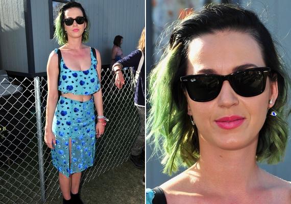 Katy Perry nem a legjobb formájában érkezett a Coachellára. A 29 éves énekesnő legjobb barátjával, Robert Pattinsonnal bulizott.