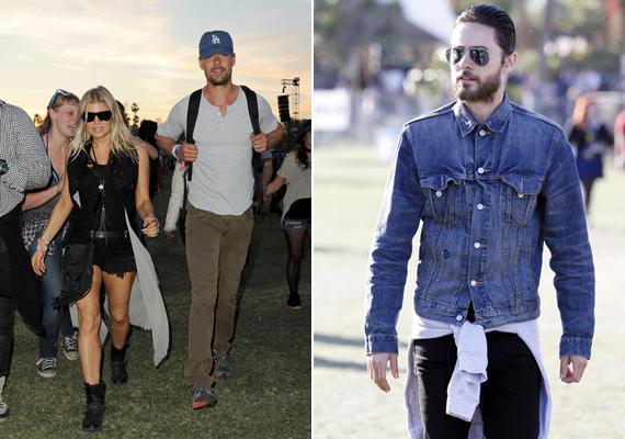 Fergie és Jared Leto is úgy néztek ki, mint a szelíd motorosok.