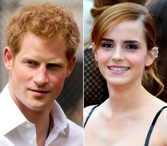 Harry herceget is hírbe hozták valakivel: egy ausztrál magazin szerint Emma Watsonnal randizgat, ám ezt a színésznő nemrégiben megcáfolta.