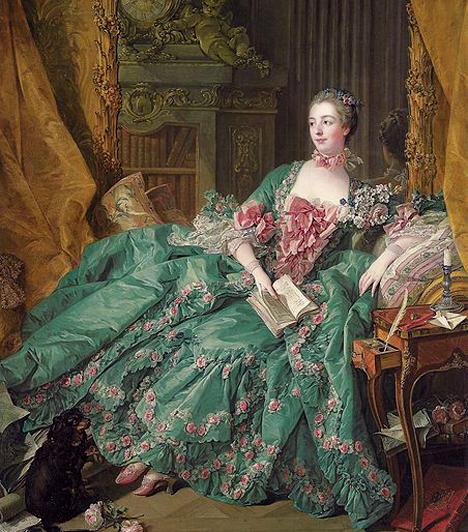 Madame De PompadourJeanne-Antoinette Poisson, azaz Madame De Pompadour XV. Lajos francia király hivatalos szeretője volt. A királlyal egy udvari maszkabálon ismerkedett meg, és igen hamar felkeltette érdeklődését. Nem sokkal később a Pompadour márkinője címet adományozta neki, emellett beleszólása volt a bel- és külpolitikába is.Kapcsolódó galéria:Híres nők a történelemben »