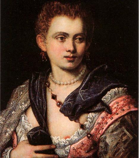 Veronica FrancoA 16. században élt, híres velencei kurtizán nem csupán szerető volt, de költőként is híressé vált. A lány a legelőkelőbb olasz férfiakkal került kapcsolatba, emellett volt egy rövid viszonya Franciaország akkori királyával, III. Henrikkel is.