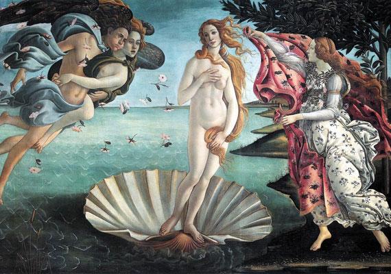 Ugyanakkor a reneszánsz magával hozza a szabályos szépség iránti igényt - a bőr fehér, a test törékeny. Ebben a korban már szabályrendszerbe foglalják, milyennek is kell lennie egy szép nőnek. Botticelli festményén a hibátlan Aphrodité születik meg éppen.