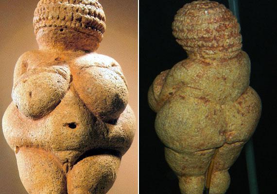 A willendorfi Vénusz még kerek, húsos, hangsúlyos a melle, a csípője és a feneke: igazi ősanya.