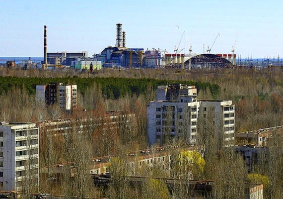 Ilyen ma Csernobil és környéke: az elhagyatott helyet bevette a természet.