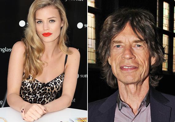 Mick Jagger és Jerry Hall lánya, Georgia May élvonalbeli topmodell, hála különleges vonásainak, amiket bizony egészen pici részben a papának is köszönhet.