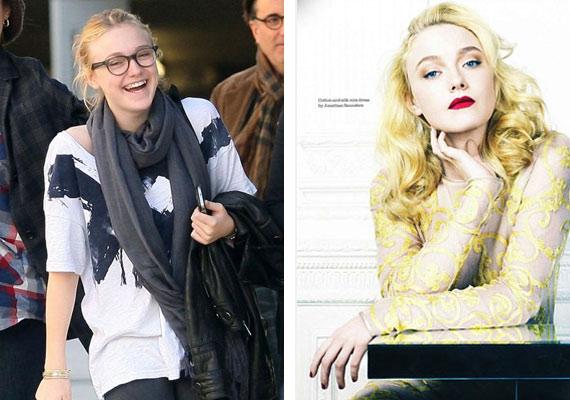 Dakota az Elle magazinnak azt nyilatkozta, az anyukája véleménye az egyetlen, ami számít. Vajon neki tetszenek a képek?