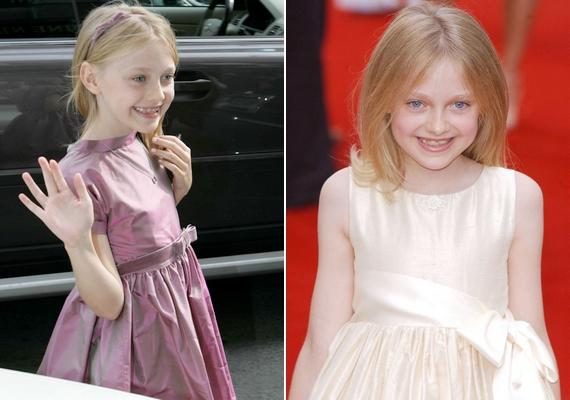 Dakota Fanning mindössze hatéves volt, amikor világhírű lett.