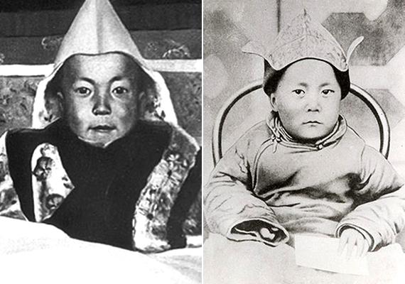 Lhamo Donrup még hároméves sem volt, amikor a dalai láma reinkarnációjaként ismerték el. Ekkor kapta aDzsepcun Dzsampal Ngagvang Loszang Jese Tendzin Gyaco nevet, melynek jelentéseszent egyetlen, gyengéd dicsőség, magasztosan szóló, könyörületes, a hit tanult védője, erényekkel ékes ragyogó óceán.