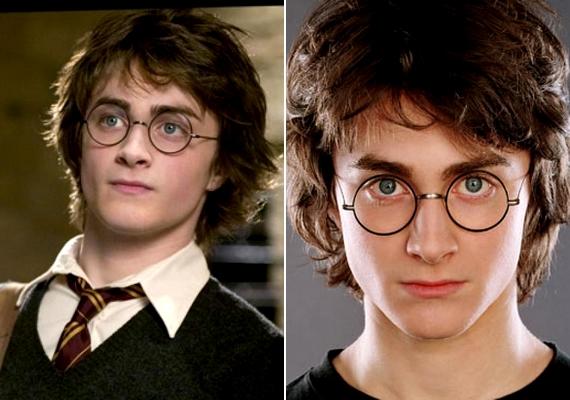 Danielnek a Harry Potter-filmek negyedik részében volt hosszabb haja, mint a megszokott.