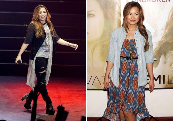 Demi Lovato étkezési problémákkal küzdött, és megjárta a rehabot, mégis sikerült talpra állnia.