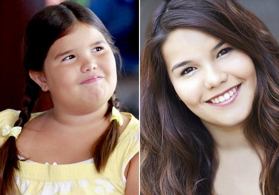 Íme, Madison néhány évvel ezelőtt, pufók arccal, Juanita Solisként, és most, gyönyörű, 13 éves kamaszlányként.