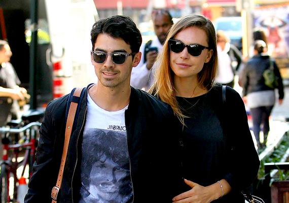 Joe Jonas azóta már boldog kapcsolatban él modell barátnőjével, Blanda Eggenschwilerrel.