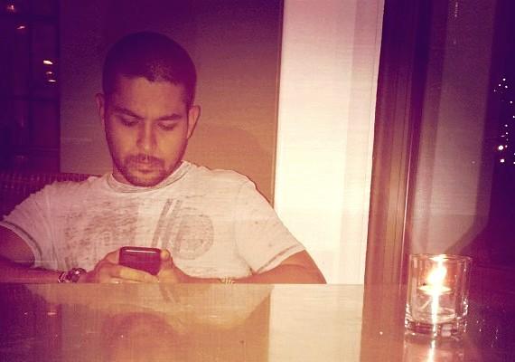 Joe Jonas és Wilmer a napokban együtt teáztak - Joe fel is töltött egy fotót az internetre az estéről.