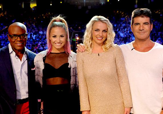 Az X-Factor idei évadjának zsűritagjai Demi Lowato és Simon Cowell mellett Britney Spears és L. A. Reid.