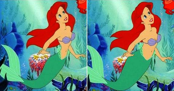 Ha léteznének sellők, Ariel, a kis hableány túl vékonynak számítana köztük.