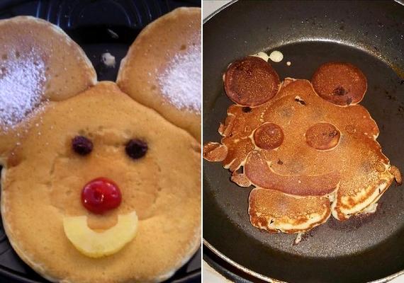 Mickey egér karikatúráját azért sikerült megalkotni.