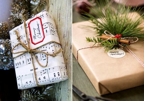 A csomagolásra is érdemes időt fordítani, akkor is, ha nem csináld magad ajándékot rejt.