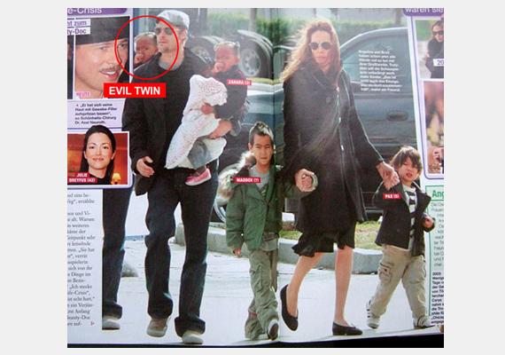 Lehet, hogy a kicsi Pitt-Jolie csemete felmenői között illuzionista is akad?