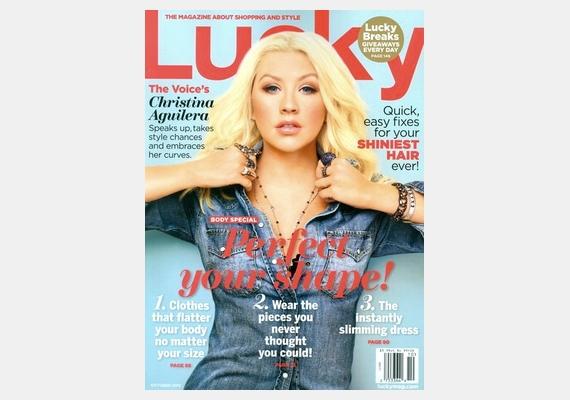 Christina Aguilera arc- és fejmérete egészen furcsa arányokat öltött.