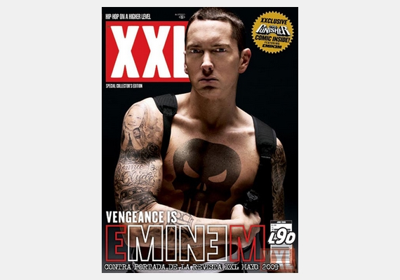 Nem csak a nőket retusálják: Eminemet sikerült átváltoztatni egy videójátékbeli karakterré.