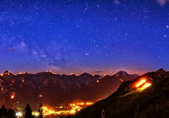 Norbert Span: A Tejút az Alpok felett