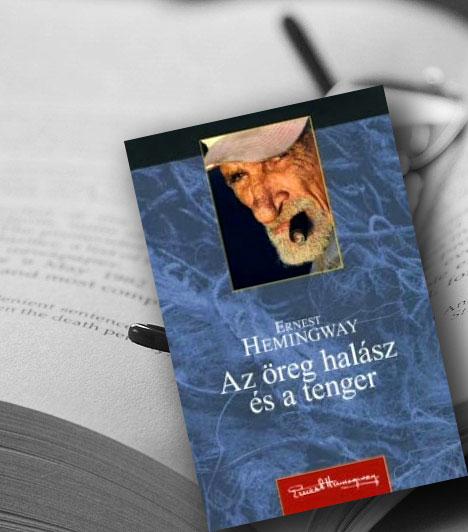 Ernest Hemingway: Az öreg halász és a tenger                         Santiago, a kubai halász - miután nyolcvannégy napon át nem fogott halat - ismét vízre száll, s kifogja az óriási marlint... Története megejtően egyszerű mese, nyelvében-lélekrajzában realisztikus elbeszélés. Ám egyben valami más is, Hemingway világlátásának, erkölcsfilozófiájának és érzületi világának, azaz a Hemingway-életmű leglényegének a végső párlata és sűrítménye.
