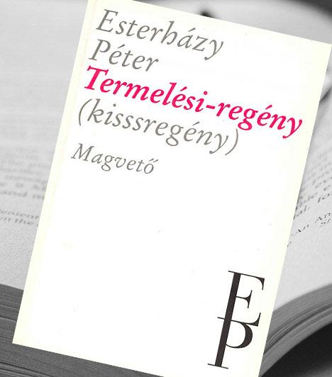 Estreházy Péter: Termelési-regény (Kisssregény)                         A kortárs magyar regény esztétikájában is merőben újat jelentő remekmű először 1979-ben jelent meg. A kor, melyben született, azóta történelem: a közeg a közelmúlt társadalma, amelynek működési vagy ha úgy tetszik, működésképtelenségi mechanizmusát szellemesen, kedéllyel, felszabadító iróniával rajzolta meg az író.                         Kapcsolódó galéria:                         9 külföldön is híres magyar regény »
