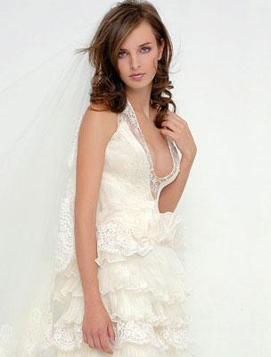 Egyedi tervezésű esküvői ruha Makány Mártától 20%..