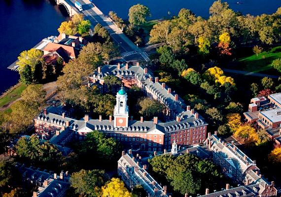Jelenleg a lista második helyezettje, a Harvard University a világ leggazdagabb egyeteme. Két évvel ezelőtt a Times ranglistáján végzett első helyen.