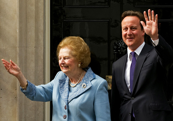 Nagy-Britannia első női miniszterelnöke, Margaret Thatcher április 8-án hunyt el szélütés következtében.