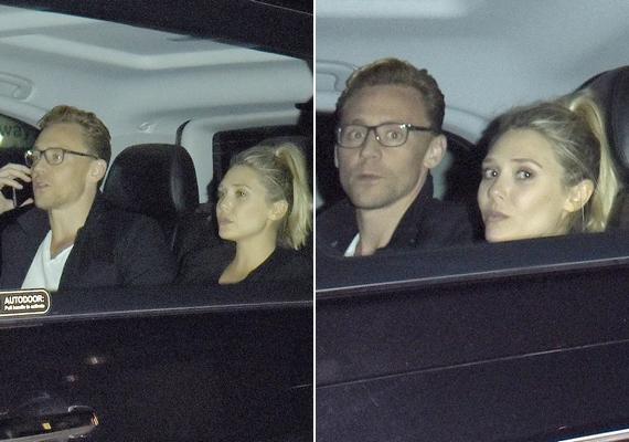 Elizabeth és Tom először mutatkoztak együtt nyilvánosan úgy, hogy nem próbálták leplezni a kapcsolatukat. A pár csütörtökön tűnt fel egy londoni étteremben, ahonnan taxival távoztak.