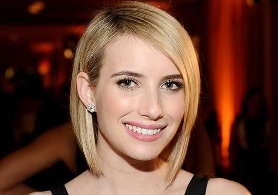 Így néz ki Emma Roberts legújabb frizurájával. Szerintünk jól áll neki, te mit gondolsz?